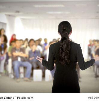 Haben auch Sie vor Ihrem Vortrag Angst?
