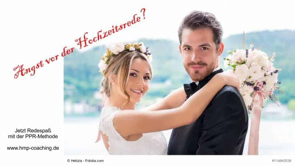 Angst vor der Hochzeitsrede - warum nicht Redespaß?