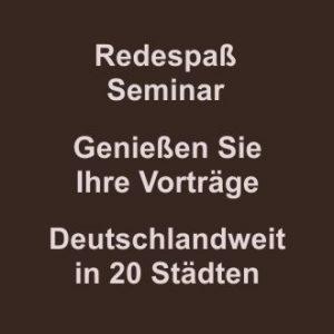 Redespaß-Seminar