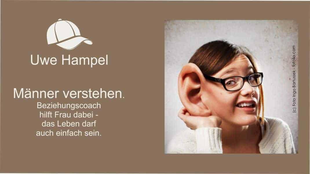 Männer verstehen - Beziehungscoach Uwe Hampel hilft Frau dabei.