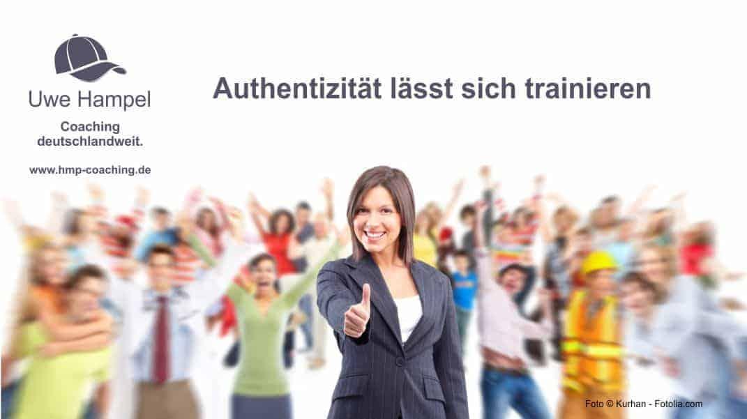 Ein sehr wichtiger Faktor für Erfolg im Beruf sind Selbstbewusstsein und Authentizität.