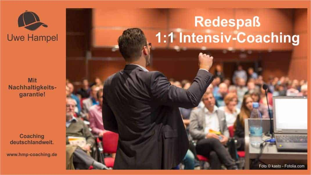 Redespass Intensiv Coaching mit der PPR Methode