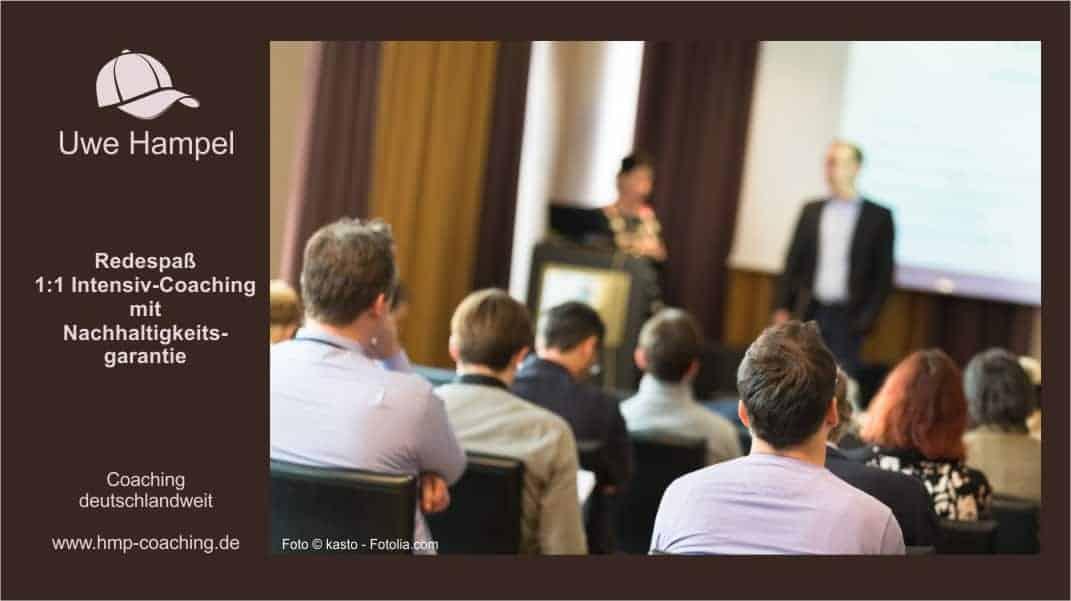 Redespass Intensiv-Coaching mit meinem 7-Punkte-Programm