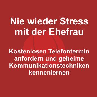 Nie wieder Stress mit der Ehefrau
